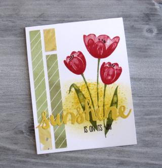 Sunshine Tulips FMS299 RRCB68