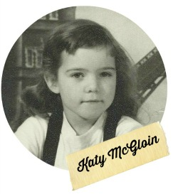 Katy Childhood picture