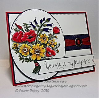 TCC94 Country Bouquet Prayers SV