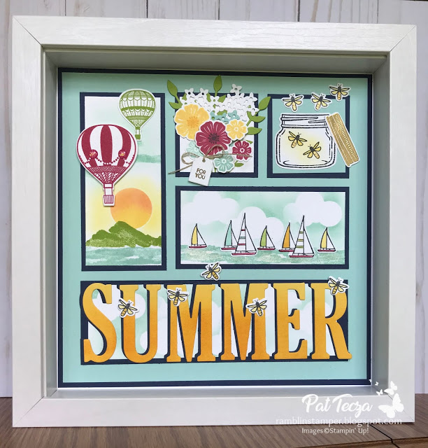 Stampin' Up Sampler-3D Projects