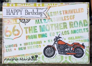 Motobike card